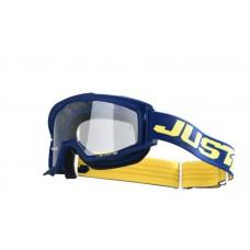 Akiniai krosiniai Just1 Vitro, mėlyni/geltoni