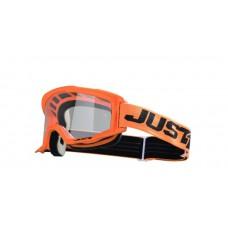 Akiniai krosiniai Just1 Vitro, oranžiniai/juodi