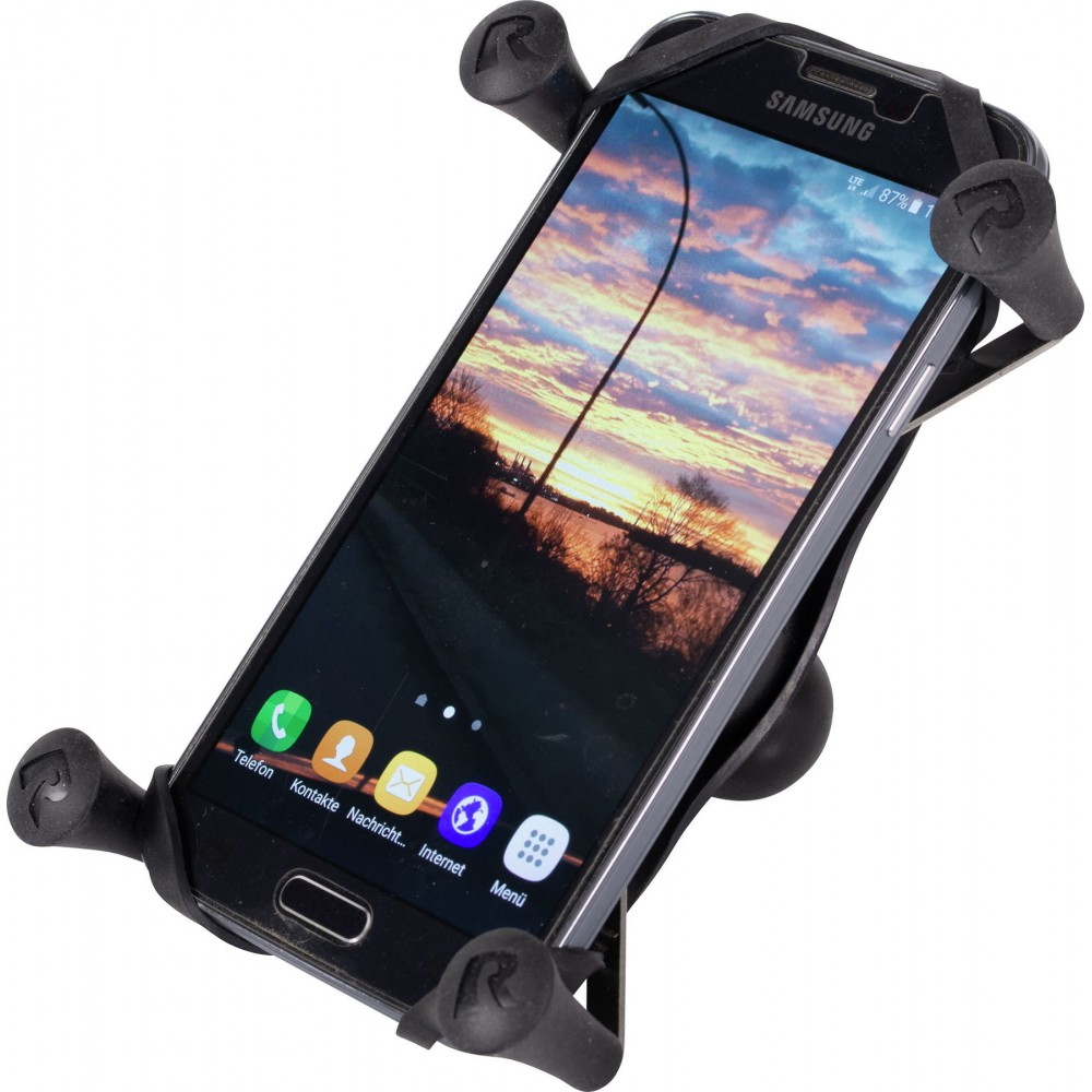 Telefono laikiklio gnybtas RAM Mounts (tinka mažiems ir vidutinio dydžio telefonams)
