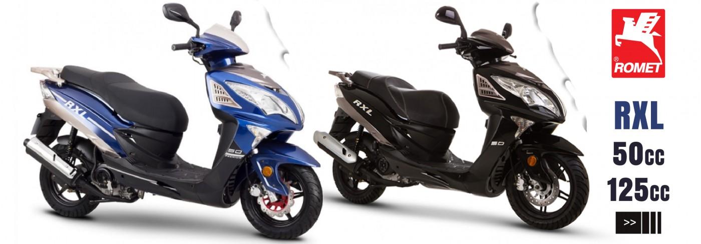 Naujas motoroleris 50CC ir 125cc