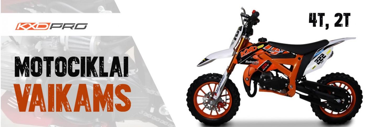 Nauji motociklai vaikams