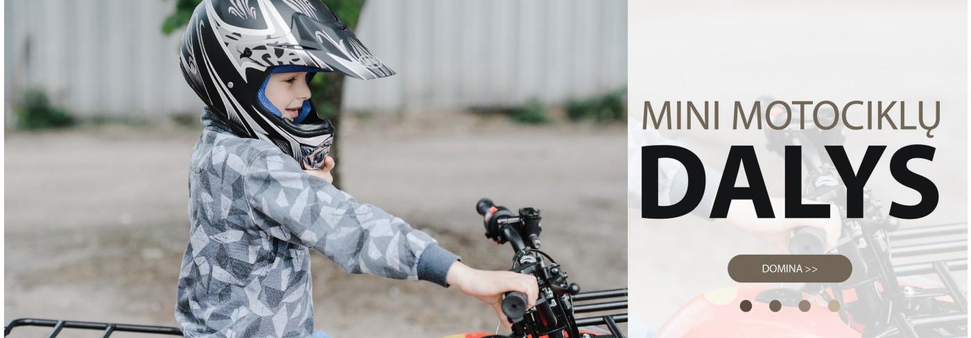 Mini motociklų dalys