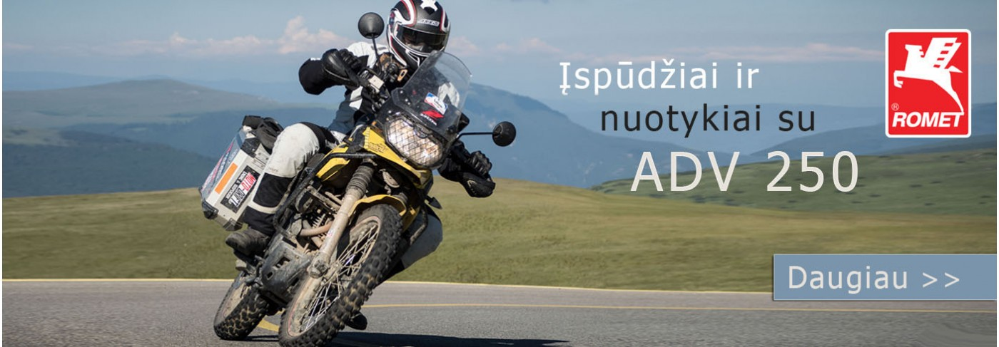 Romet ADV 250 motociklas