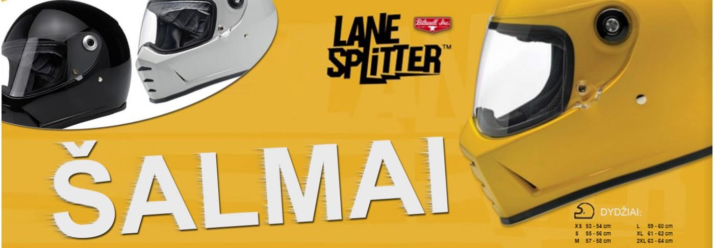 Biltwell Lane Splitter šalmai