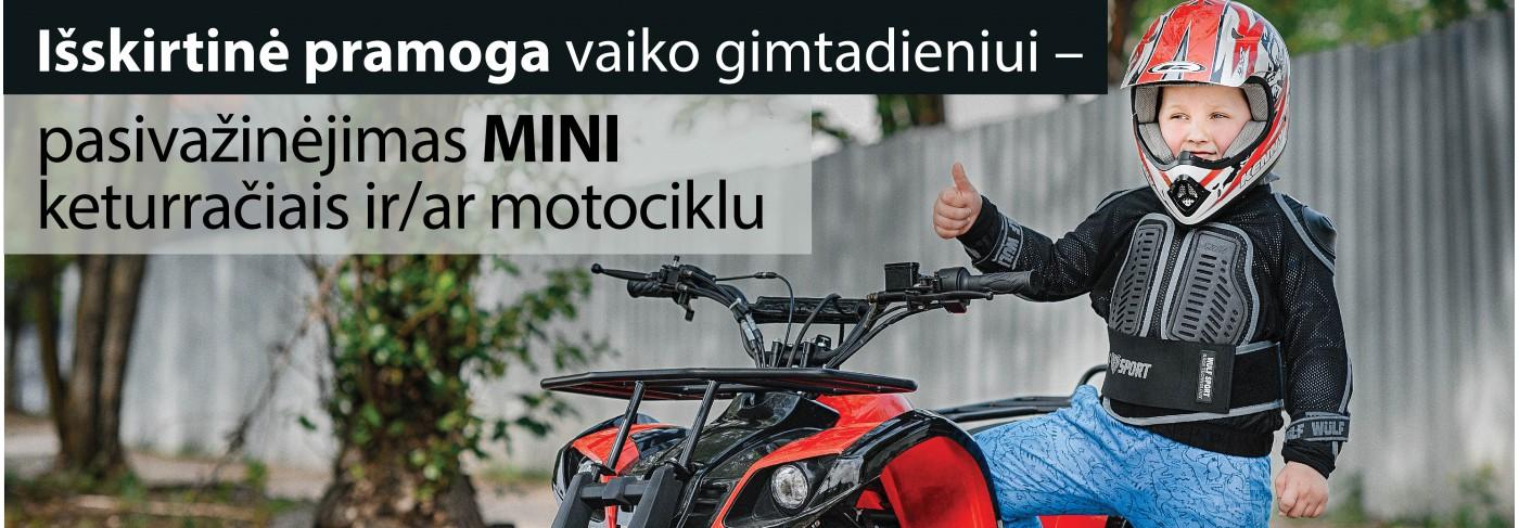 Mini ATV nuoma Kaune ir Kauno r.