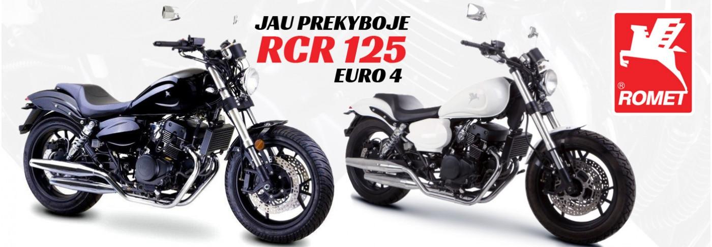 Jau prekyboje - Romet RCR 125