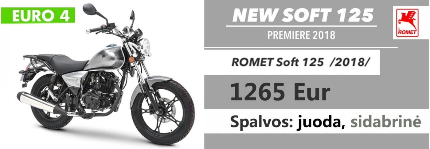 Naujas motociklas 125CC
