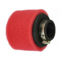 Oro filtras ø38mm raudonas - tiesi jungtis