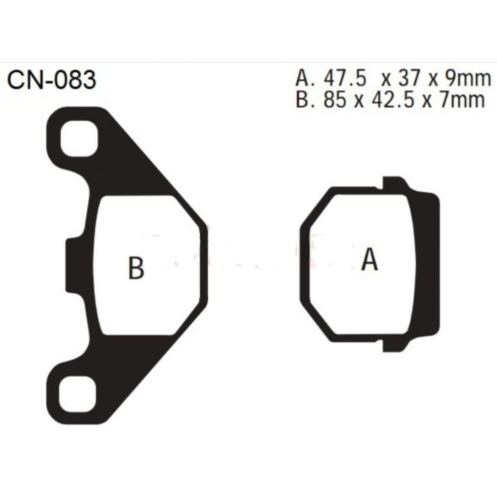 Stabdžių kaladėlės CN-083 - KEEWAY, CPI, TGB, PEUGEOT