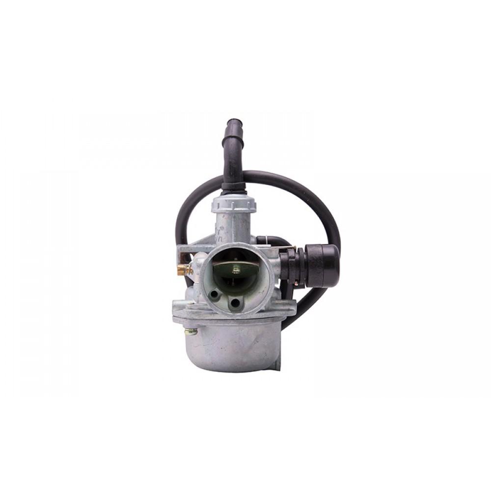 Karbiuratorius Moretti 50cc 4T 15mm, droselis ant svirties