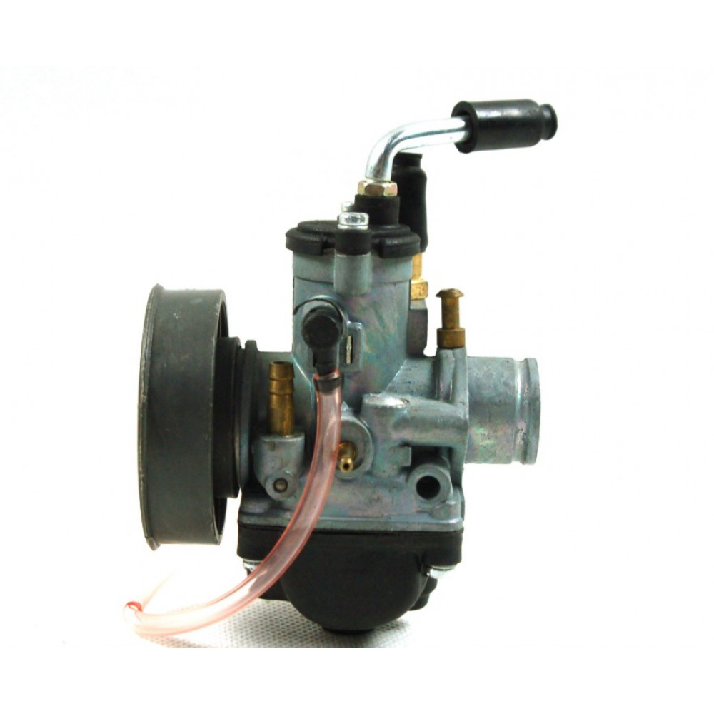 Karbiuratorius Moretti AM6 50cc 2T, 22mm, rankinis siurbimas