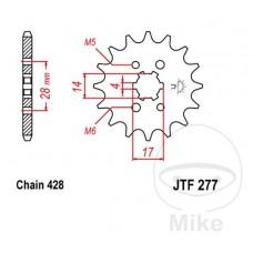 Žvaigždė priekinė JTF277.14 4MM 14/17 428
