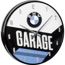 Laikrodis sieninis BMW GARAGE