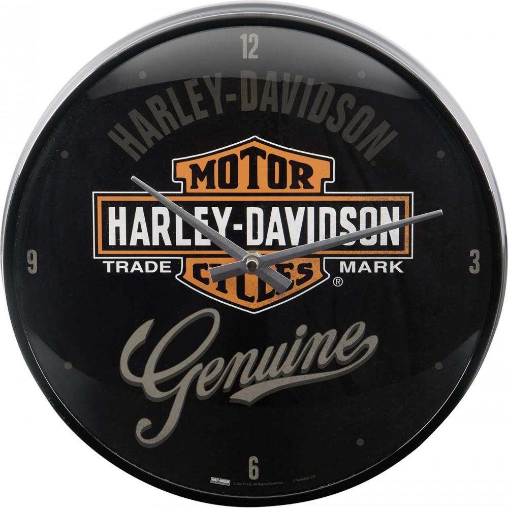 Laikrodis sieninis HARLEY DAVIDSON GENUINE