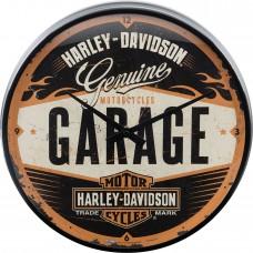 Laikrodis sieninis HARLEY DAVIDSON GARAGE