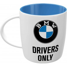 Puodelis BMW Drivers Only 330 ml