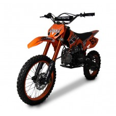 "Motociklas krosinis KXD 125cc - DB 608 17"", 14"""