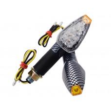 Posūkiai MRT-088, LED (14 diodų) juodi, (E žymėj.)