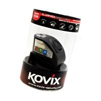 Stabdžių disko užraktas su aliarmu KOVIX KD6, juodas