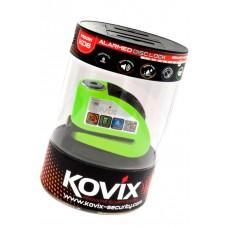 Stabdžių disko užraktas su aliarmu KOVIX KD6, neon. geltona