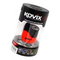 Stabdžių disko užraktas su aliarmu KOVIX KS6, oranž.