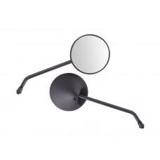 Veidrodėliai Ranger Classic, D+D, 10 mm, juodi