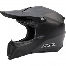 Šalmas krosinis AFX FX-14, juodas matinis L